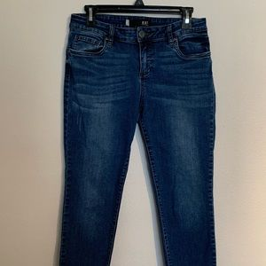 KUT from the Kloth Diana skinny jeans, size 8